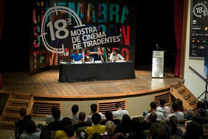 Debate: Qual é o lugar do Cinema?. Foto: Biel Machado/Universo Produção