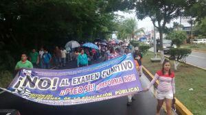 Marcha Costa Puerto Escondido 10 julio 2015(1)