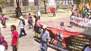 Megamarcha Nacional Oaxaca 27 julio 2015(11)