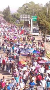 Megamarcha Nacional en Oaxaca 27 julio 2015(16)