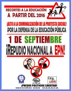 Imagen repudio nacional 01 septiembre 2015