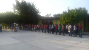 Inicio del Ciclo Pinotepa 20 agosto 2015