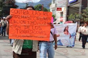 Marcha mitin en apoyo al sector salud(6)