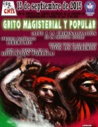 Grito Magisterial 2015(2)