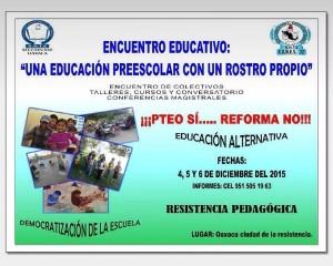 Encuentro Educativo diciembre 2015