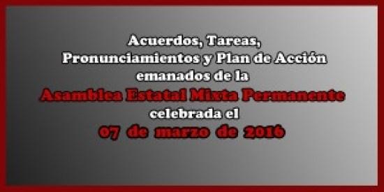 ACUERDOS Asamblea Mixta 07 marzo 2016