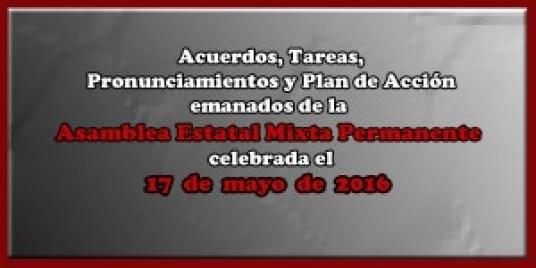 ACUERDOS Asamblea Mixta 17 mayo 2016