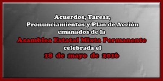ACUERDOS Asamblea Mixta 18 mayo 2016