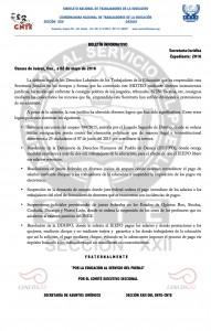 Boletín Informativo del área jurídica- 02 mayo 2016