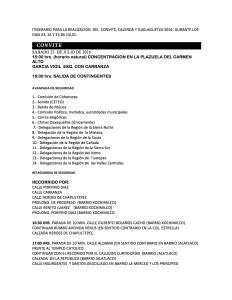 ITINERARIO XI Guelaguetza Magisterial y Popular 2016(1:3)