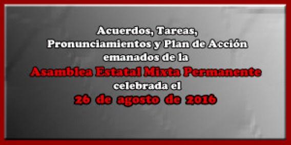 ACUERDOS Asamblea Mixta 26 agosto