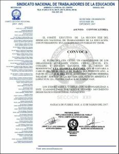 Convocatoria para la Asamblea Plenaria el 15 de marzo de 2017