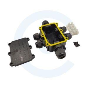 Caja de conexiones impermeable Greenway M686-6 IP68, 24A 450VAC - Cenel Europe slu - Electronic Components - Tienda online recambios electrónicos