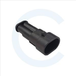 Conector TE Connectivity conducto-conducto Superseal 1.5 Macho 2 pines - Cenel Europe Slu - Electronic components - Tienda online - Recambios electrónicos