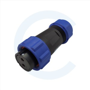 003011256 Conector circular hembra 2 pines - WEIPU - SP2110 - CENEL Europe - electronic components - tienda online