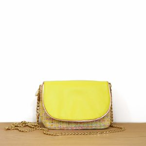 Cénélia | petit sac en tweed et cuir Chloé