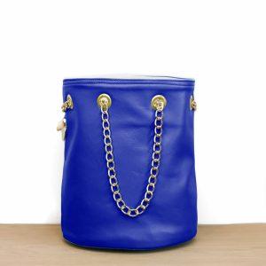 Cénélia | sac seau bleu Klein Zoé