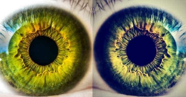 ¿Por qué los ojos cambian de color?