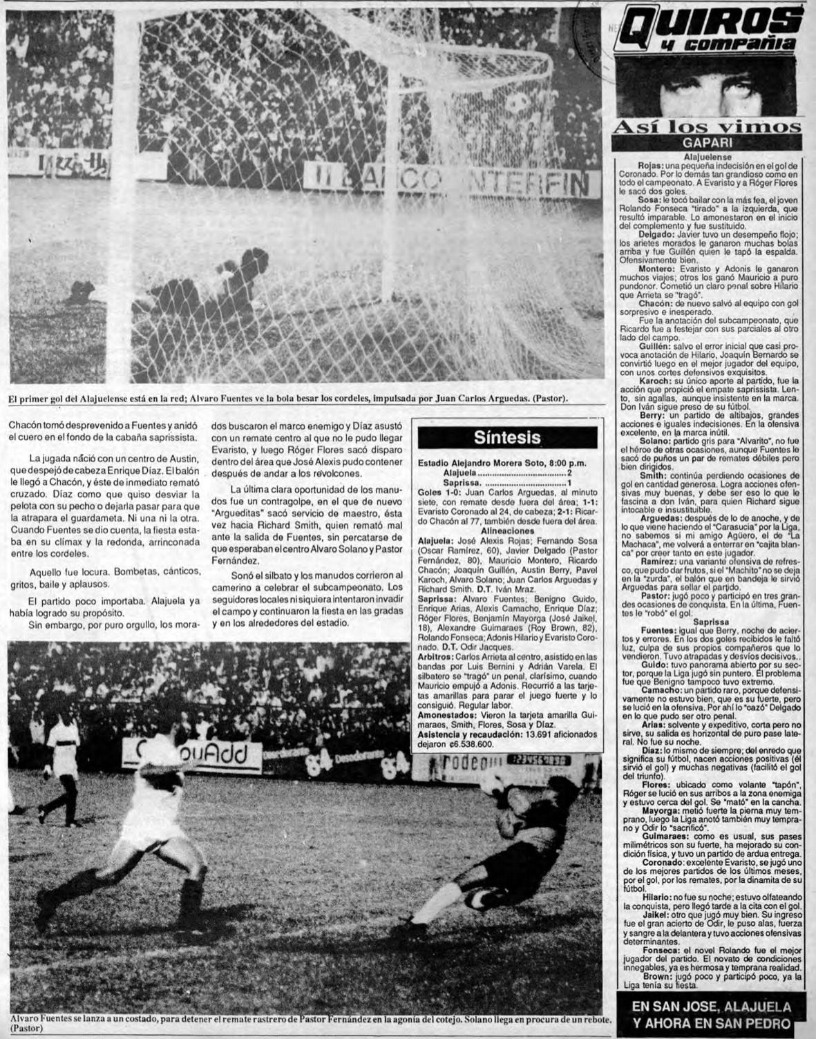 4 de septiembre 1991