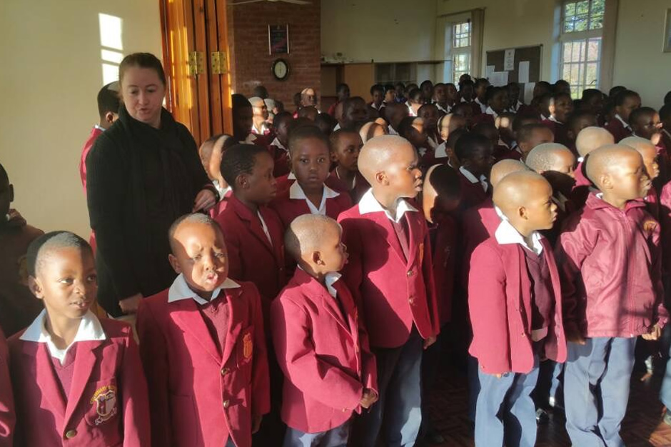 assembly period at centenary primary school bulawayo