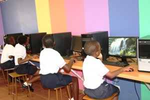 computer lessons at centenary primary school 4