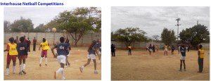 interhouse netball competitions at centenary primary school bulawayo