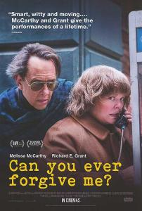 Can You Ever Forgive Me (2018) @ Centenary Centre | Peel | Isle of Man