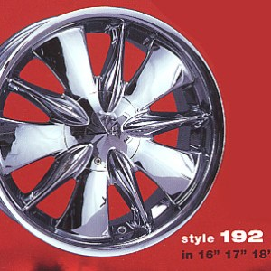 Limited 192 replacement center cap - Wheel/Rim centercaps for Limited 192