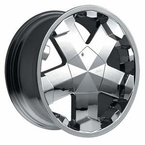 Milanni Rapper replacement center cap - Wheel/Rim centercaps for Milanni Rapper