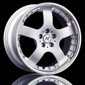 AT Italia Riva 2pc. replacement center cap - Wheel/Rim centercaps for AT Italia Riva 2pc.