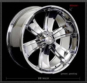 Apex Sixer replacement center cap - Wheel/Rim centercaps for Apex Sixer
