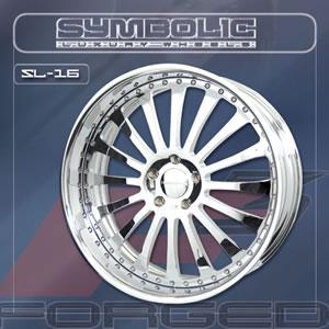 Symbolic SL16 replacement center cap - Wheel/Rim centercaps for Symbolic SL16