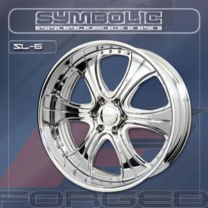 Symbolic SL6 replacement center cap - Wheel/Rim centercaps for Symbolic SL6