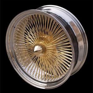 Miami Wires 100 Spokes replacement center cap - Wheel/Rim centercaps for Miami Wires 100 Spokes