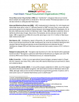 Tissue Procurement Organizations (TPOs)