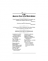 Daleiden v. NAF USSC Petition for Writ of Certiorari