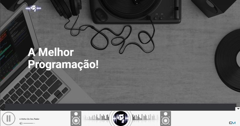 Página única gratuita para nossos clientes de streaming de áudio