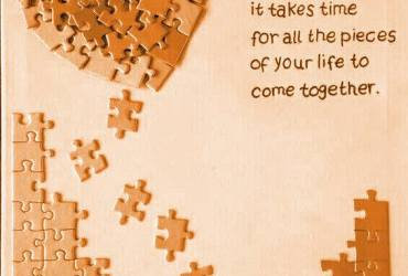 just like a puzzle
