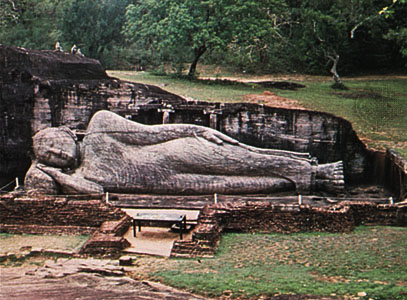 Buddha on his Death Bed
