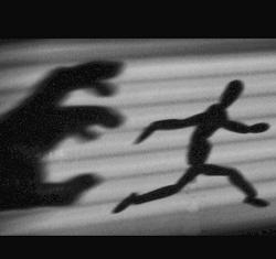 fear - running away