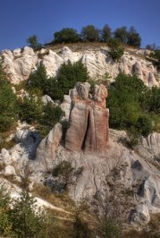 The 'Stone Marriage' of Zimzelen, a natural phenomenon in Bulgaria