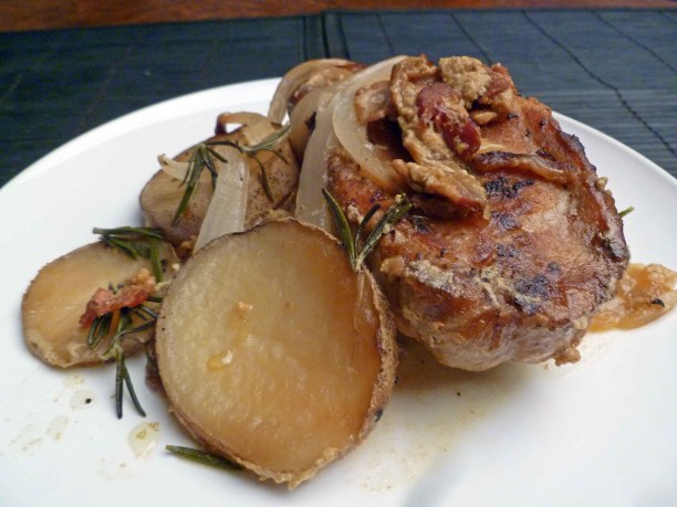 Country Pork and Potatoes (Slow Cooker)