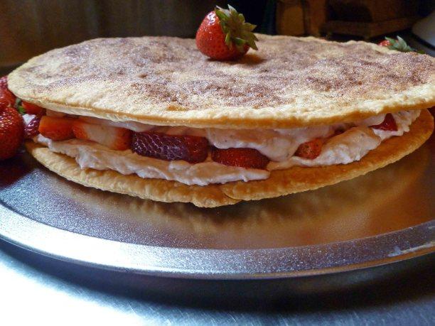 Strawberries and Cream Crustella