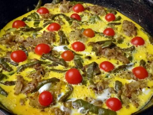 Nopales (Cactus) Frittata