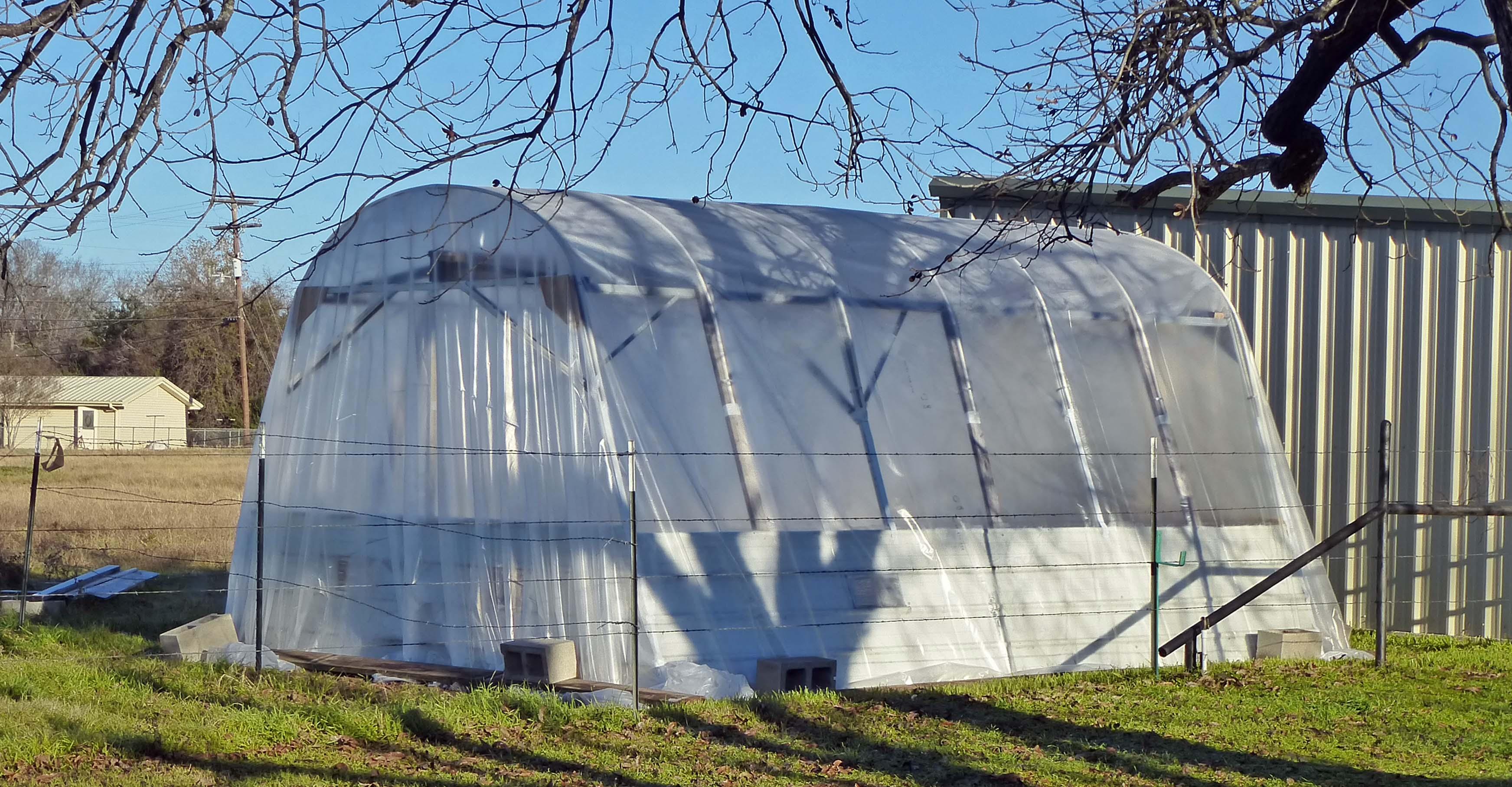 Citaten Hoop House : Hoop house greenhouse centex cooks