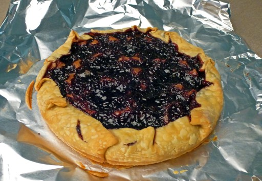 Baked Tart With Ring Removed