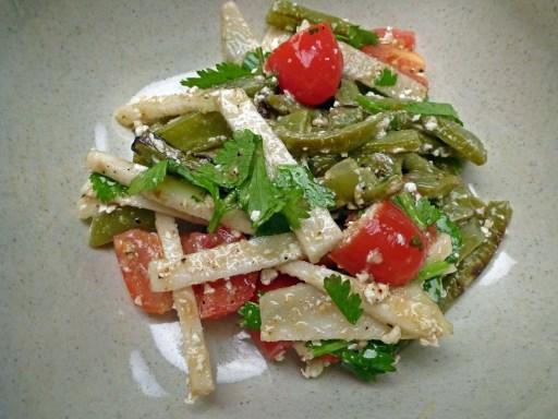 Grilled Cactus Salad