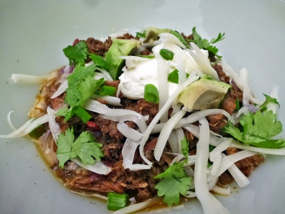 Chili with Rib Meat