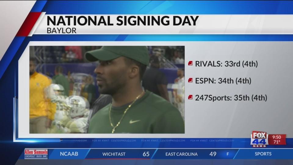 National Signing Day: Baylor