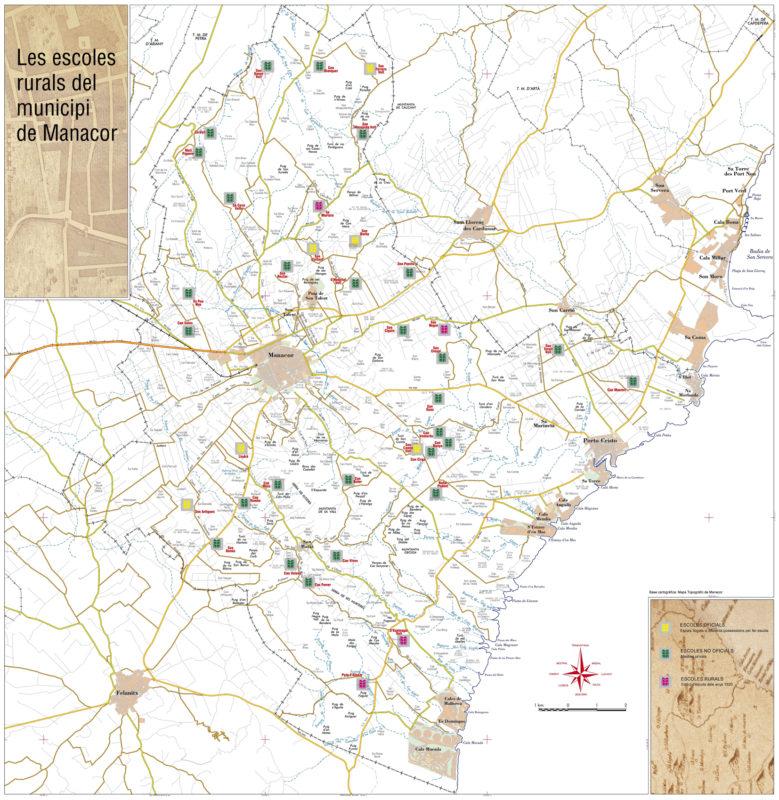 37 Escoles Rurals Al Terme De Manacor